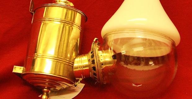 Bristol and Bath Antique Oil Lamps