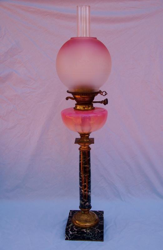 Original Messenger Duplex Oil Lamp Sold