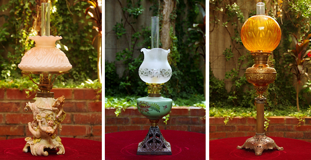 Antique Oil Lamp Restoration