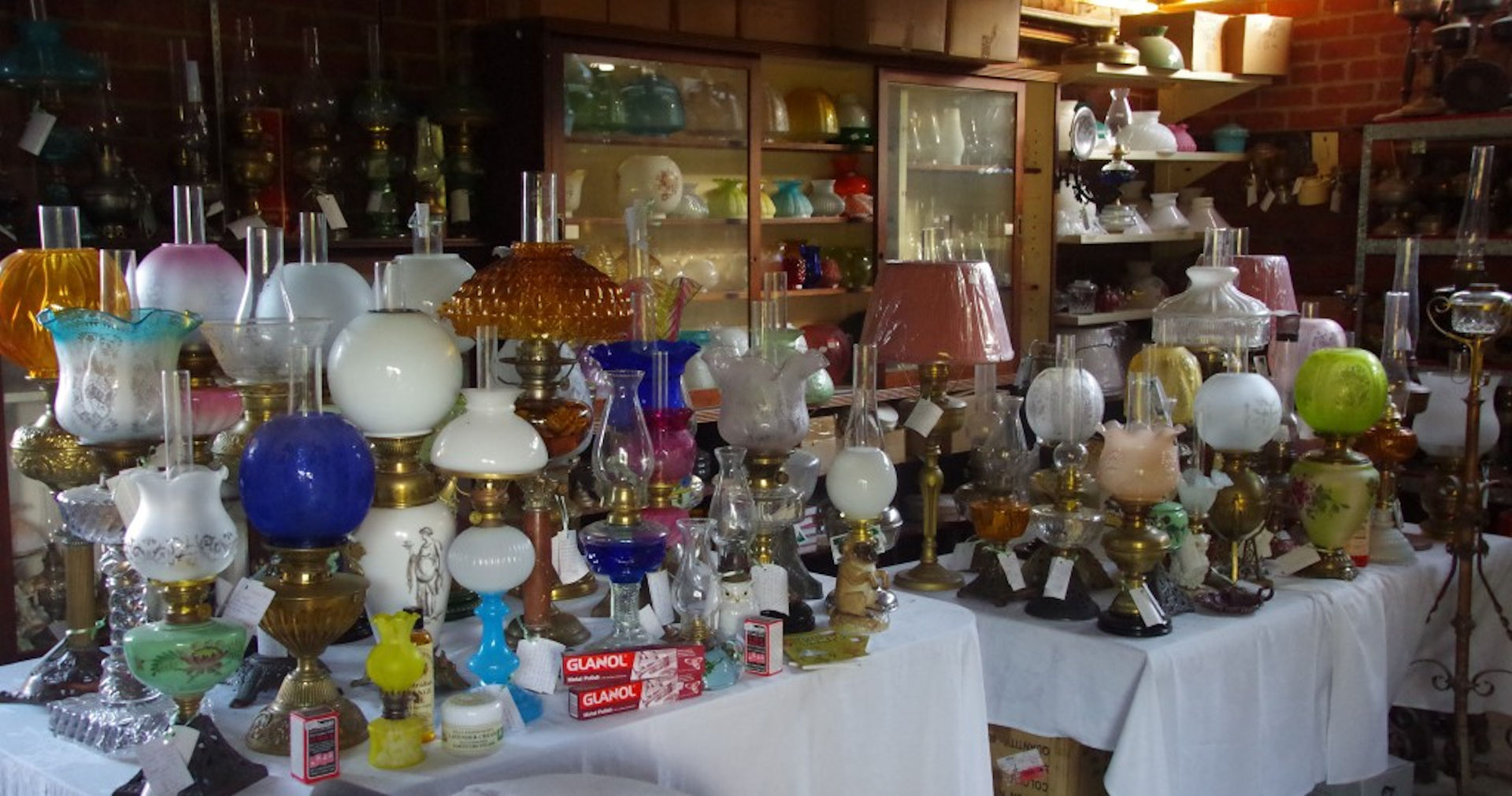 Antique Lamps Perth WA